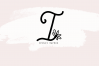 Handwritten Monogram Font - Four Styles example image 2