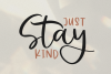 Falling Leaves - A Font Duo with Doodles example image 12