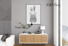 Rabbit, Easter SVG / DXF / EPS / PNG files example image 6