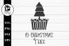 O Christmas Tree 3 SVG  PNG   EPS   DXF example image 1