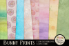Easter Digital Scrapbook Kit - Bunny Prints Spring Clipart example image 2