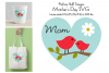 Mothers Day Graphic with Birds on Branch example image 1