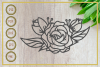 Flower svg, single rose, instant download, cut file example image 1