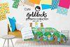 GOLDILOCKS , digital papers example image 1