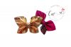 New 2 in 1 Butterfly Pinch Bow Digital Template example image 1