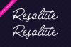 Payland Monoline Script example image 4