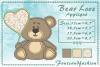 Bear Love_Appliquè example image 1