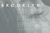 Brooklyn | Two Weight Font Family example image 3