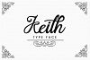 Keith Typeface example image 1