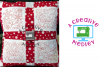 Christmas Blocks Set Embroidery Design example image 1