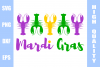 Mardi Gras SVG PNG DXF EPS example image 1