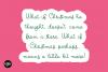 CHRISTMAS MISTLETOE a Script - Serif Christmas Font Duo example image 7