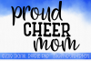 Cheer Mom SVG, Sports SVG example image 1