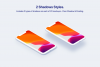 iPhone 11 Pro - 20 Clay Mockups Scenes - PSD example image 3
