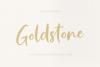 Goldstone - Stylish Handwritten Font example image 2