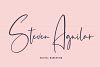 Panopticon Signature Font example image 2