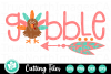 Gobble - A Thanksgiving SVG Cut File example image 1
