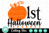 1st Halloween - A Halloween SVG Cut File example image 2