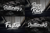 Button Shield Brush Font example image 3