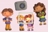 Cute Photography Illustrations example image 3