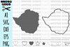 ZIMBABWE svg, Zimbabwe Vector File, Zimbabwe Outline example image 1