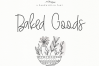 Baked Goods - A Handwritten Signature Font example image 1