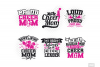Cheer Mom SVG in SVG, DXF, PNG, EPS, JPG example image 3