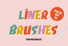 LINER BRUSHES FOR PROCREATE example image 1