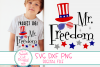 Mr Freedom SVG, 4th Of July SVG, Funny Patriotic SVG For Boy example image 1