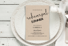Rustic Rehearsal Dinner Invitation, Invitation Template example image 3