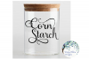 Corn Starch Label, Kitchen, Pantry, Cut File example image 2