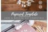 Monogram Christmas Wreath - SVG EPS DXF PNG PDF JPG Cut File example image 4