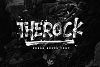 THEROCK - URBAN BRUSH FONT example image 10