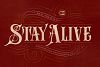 Stay Alive Typeface example image 1