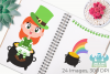 St Patrick's Day Clipart, Instant Download Vector Art example image 3