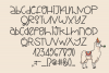 Stinky Llama - A Quirky Hand-Written Font example image 2