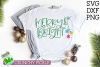 Merry & Bright Christmas SVG File example image 1