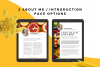 Food Lovers Recipe and Cookbook Canva Template Ebook example image 4