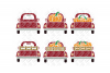 Pumpkin Truck SVG Thanksgiving in SVG, DXF, PNG, EPS, JPEG example image 3