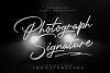 Photograph Signature Logo fonts example image 1