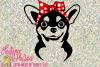 Chihuahua with Bandana Bow example image 1