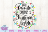 My Favorite Color is Christmas Lights SVG example image 3