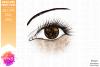 Brown Awareness Ribbon Eye - Printable Design example image 2