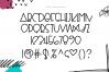 Fragments - A Fun Handwritten Font example image 9
