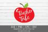 Teacher Tribe SVG - School SVG example image 2