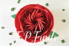 Giant Paper Rose Templates, Bundle of 4 example image 4