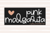 Pink Margarita - A Quirky Handwritten Font example image 1