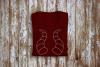 Dragon Horns Rhinestone SVG Template example image 1