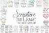 The Scripture SVG Bundle | Bible Verses SVGs example image 1