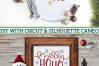Merry Ho Ho Christmas SVG File example image 4
